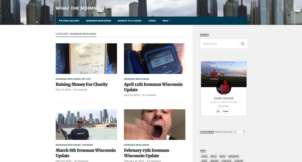 Dustin Blog