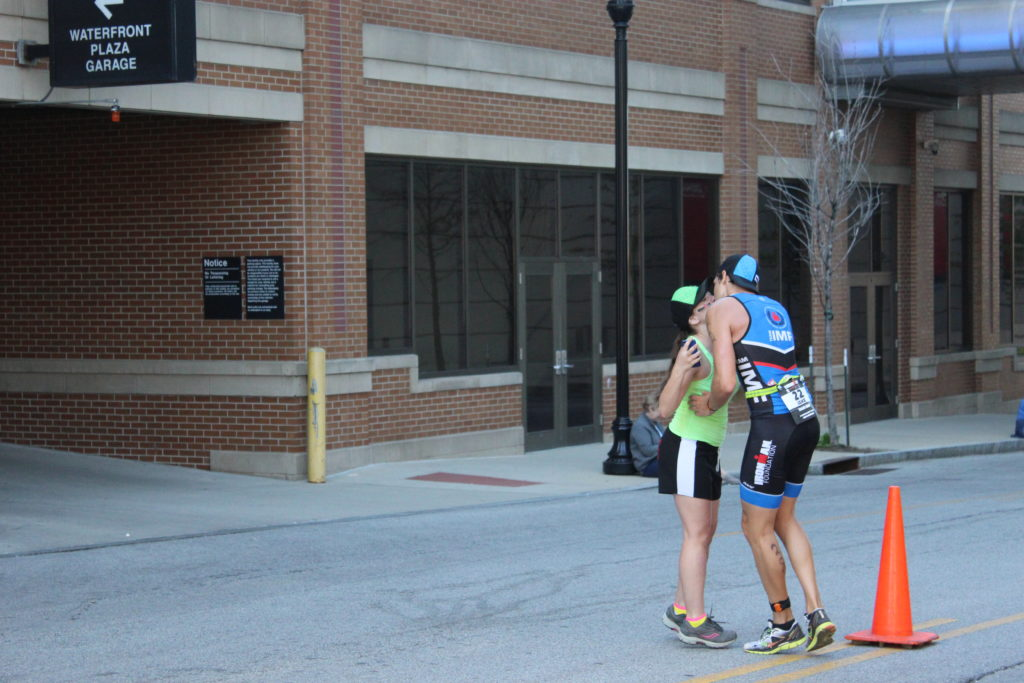A sweet moment shared by TEAM IMF Athlete, Jake Schild, and his super supportive girlfriend!