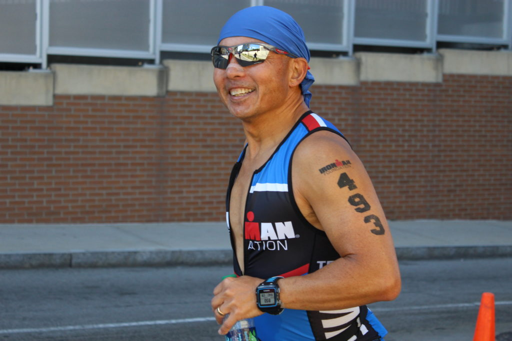 TEAM IMF Athlete, Oscar Im, looks ready to CRUSH this marathon!