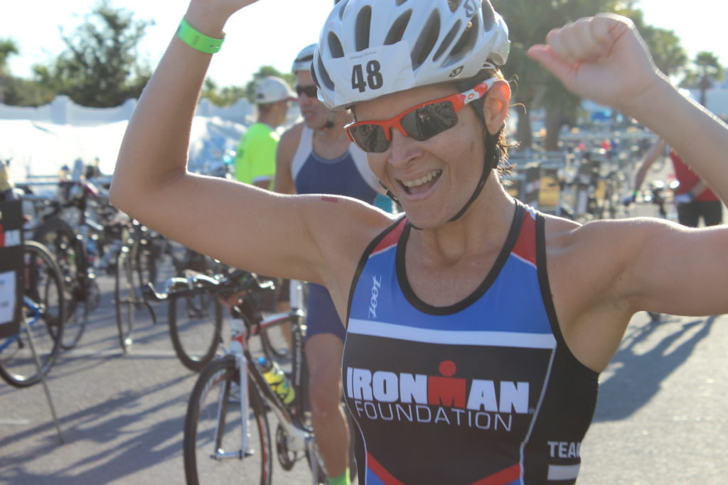 TEAM IMF Athlete Michelle O'Rourke is pumped to be racing with IMF this year! Her organization, Montgomery County Youth Services, received grant funding from The IRONMAN Foundation in 2015 & 2016. Talk about full-circle!