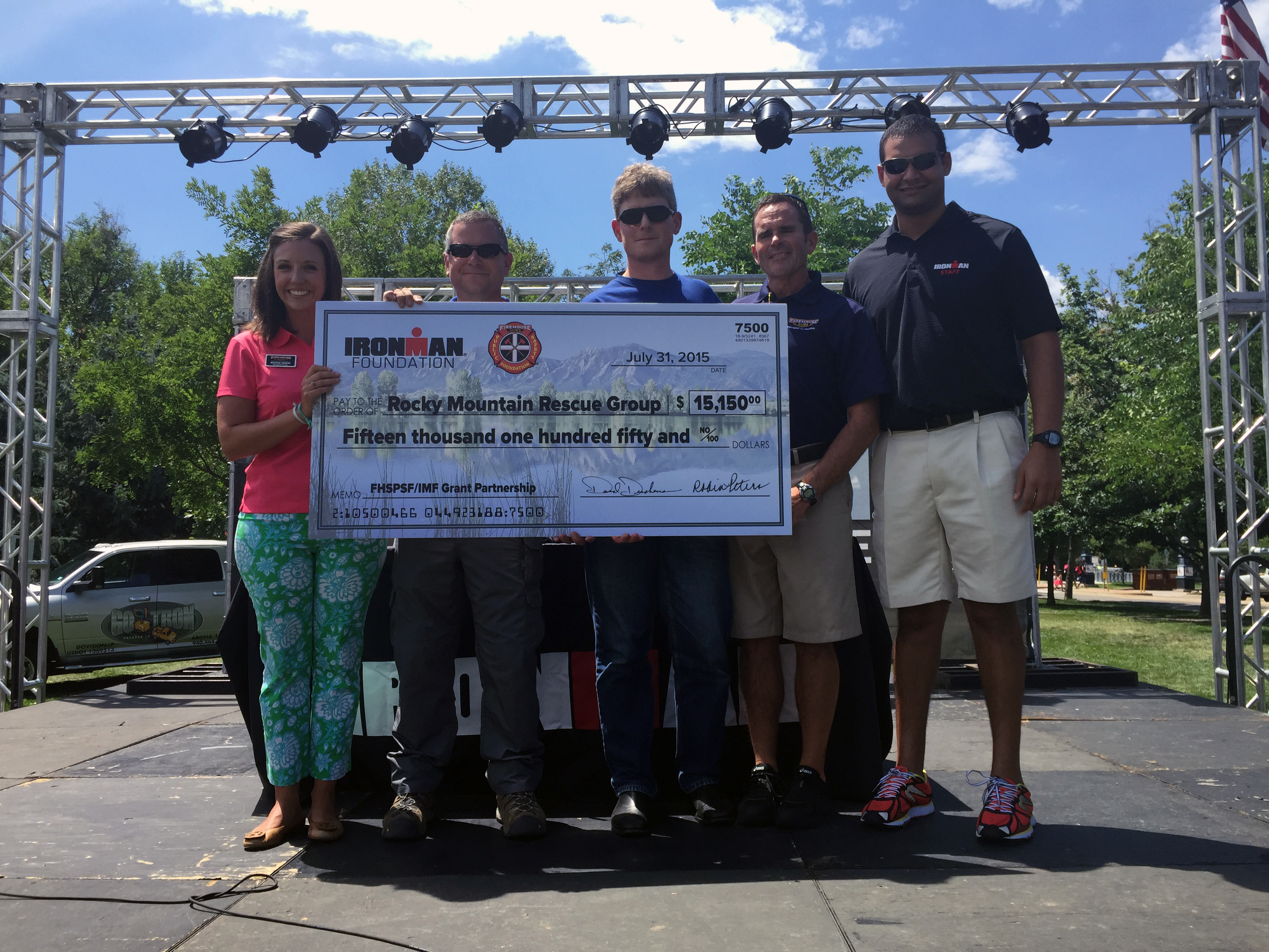 2015 IRONMAN Boulder - Rocky Mt Rescue Group Check Presentation