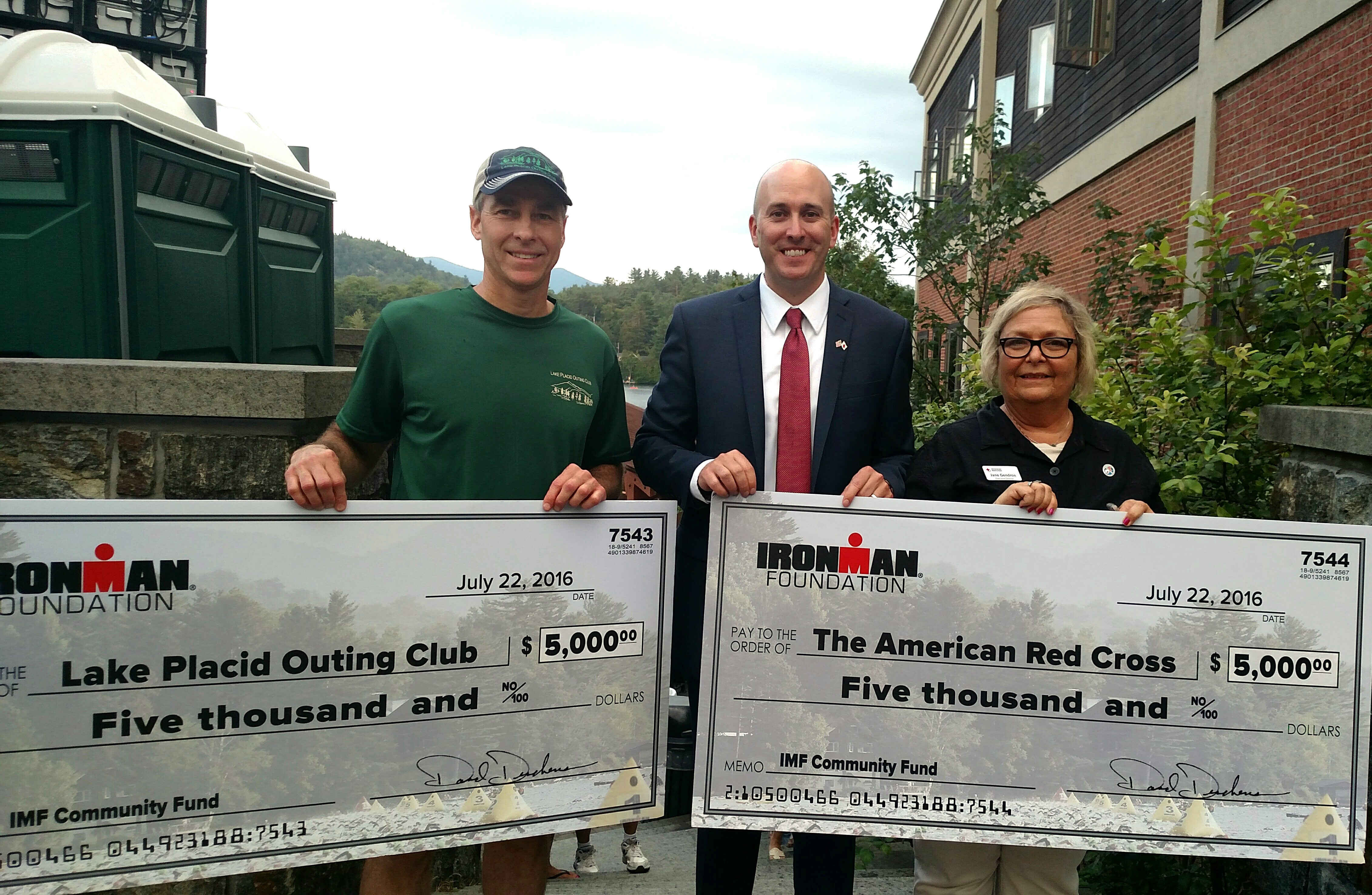 IRONMAN Lake Placid 2016 Community Grant Recipients