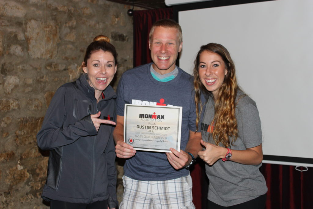 """Dustin Schmidt was our winner for """"Most Creative Fundraiser"""" with an awesome neighborhood garage sale he hosted. Dustin was also our second highest fundraiser!"""
