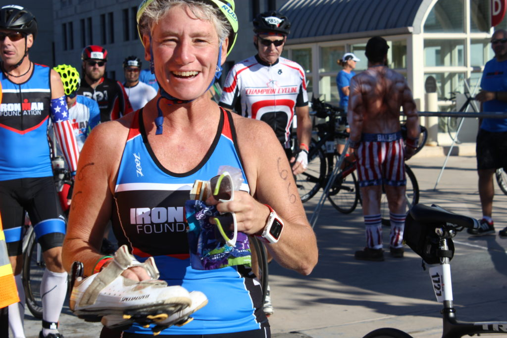 TEAM IMF Ambassador, Jen Cawley, is all smiles on this beautiful IMWI morning!