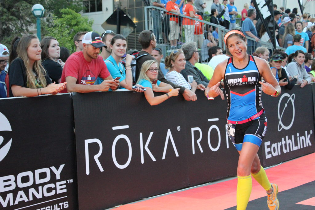 LIZZIE ANDERSON!!! YOU ARE AN IRONMAN!