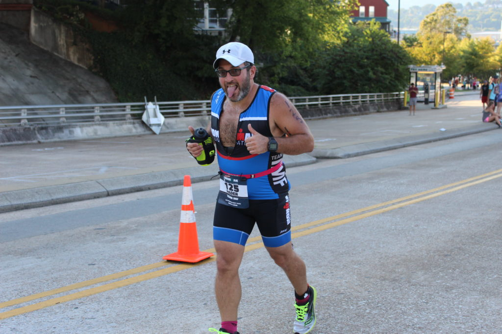 TEAM IMF Athlete, Alan Hirsch, is pumped to be on the last leg of the IRONMAN!