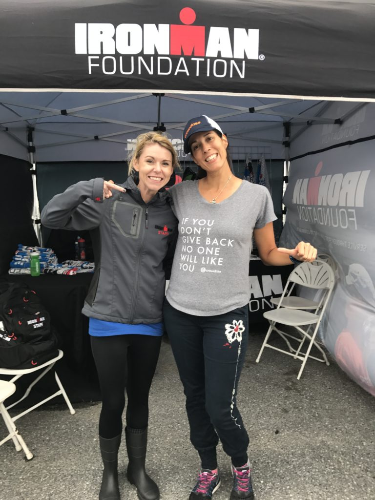 We were so honored to meet one of our Your Journey, Your Cause, Fundraisers who was sporting her Crowdrise Fundraising shirt!