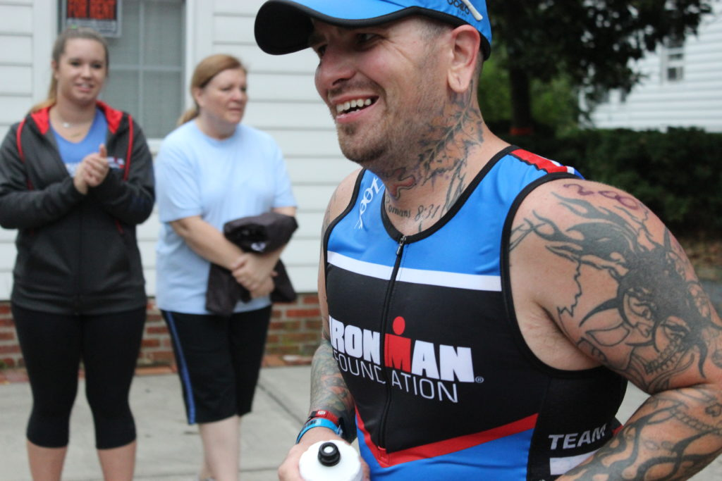 TEAM IMF Athlete, Keith Ingram, is happy to be on the run- it's his specialty!