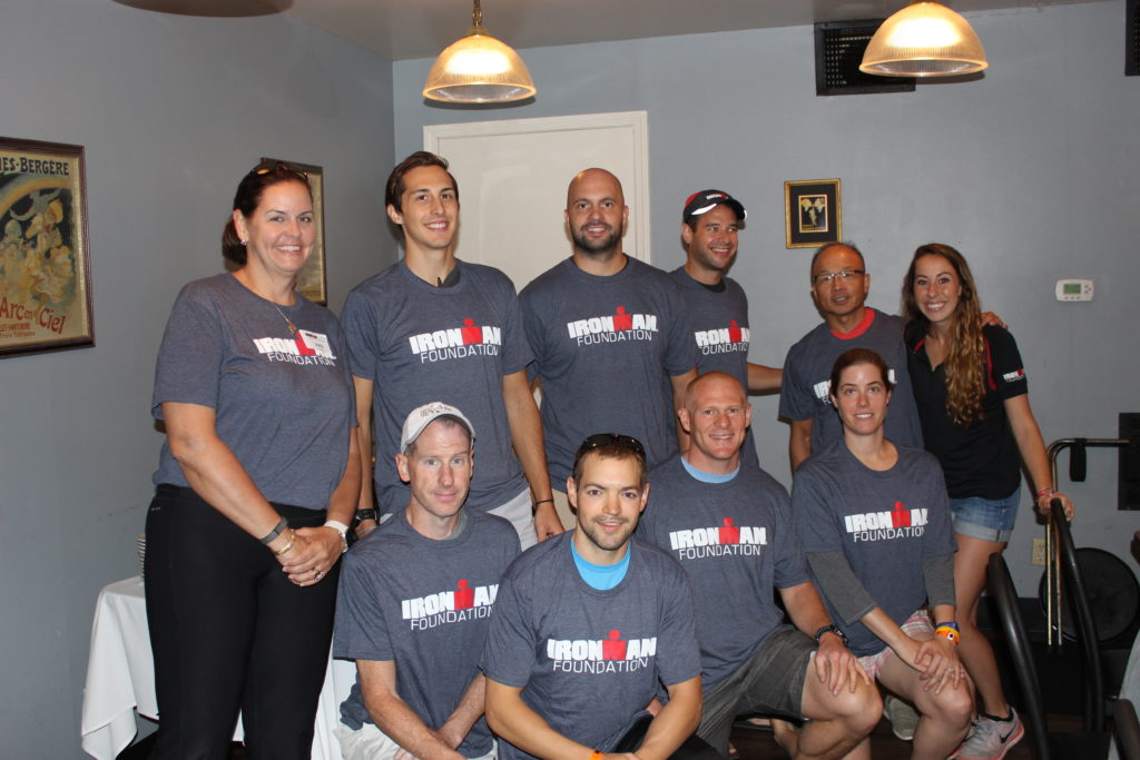 TEAM IMF Athletes at IRONMAN Louisville are having a blast getting to know one another before race day, and share their passions for fundraising!